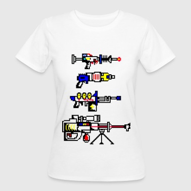 futuristic weapons - Women's Organic T-shirt