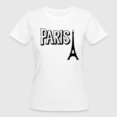 Paris Eifelturm - Frauen Bio-T-Shirt
