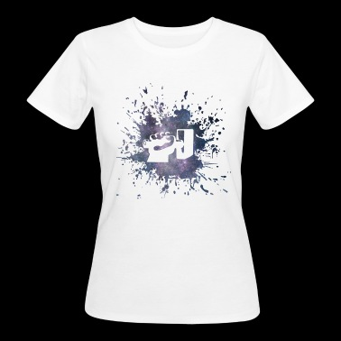 Schmied Hammer Splash - Frauen Bio-T-Shirt