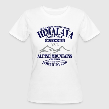 Himalaya  - Alpine Mountains - Ekologisk T-shirt dam