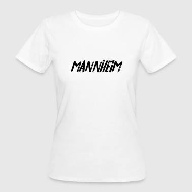 Mannheim (felt tip pen writing) - Women's Organic T-shirt
