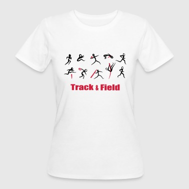 Decathlon, Track and Field - Vrouwen Bio-T-shirt