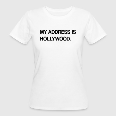 hollywood design - Frauen Bio-T-Shirt