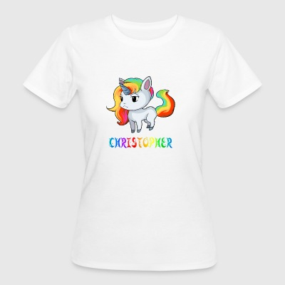 Christopher Einhorn - Frauen Bio-T-Shirt