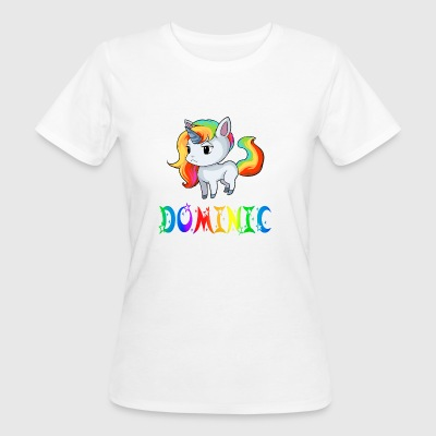 Dominic unicorn - Women's Organic T-shirt
