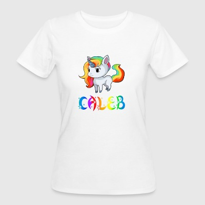 Unicorn Caleb - Women's Organic T-shirt