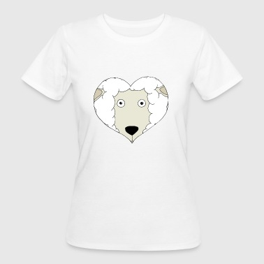 Heart Sheep - Women's Organic T-shirt