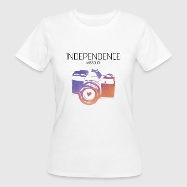 Kamera Independence Missouri - Frauen Bio-T-Shirt