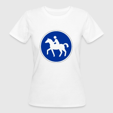 Horses allowed :) - Women's Organic T-shirt