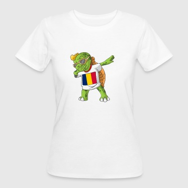Chad Dabbing turtle - Women's Organic T-shirt