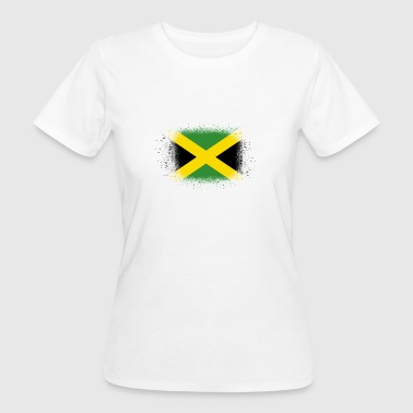 Spray logo klaue flagge home Jamaica png - Frauen Bio-T-Shirt