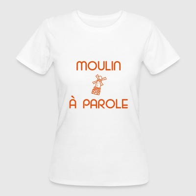 Orange logo - Frauen Bio-T-Shirt