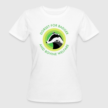 Dorset for Bagder and Bovine Welfare Logo - Women's Organic T-shirt