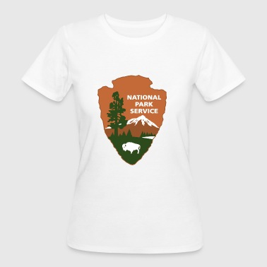 Nationalpark-Service-Logo - Frauen Bio-T-Shirt