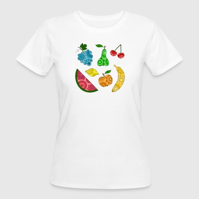 Obstsalat - Frauen Bio-T-Shirt
