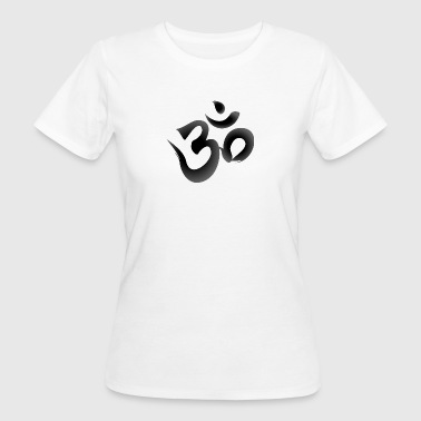 Aum, Om - black - Women's Organic T-shirt