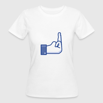 middle finger - Women's Organic T-shirt