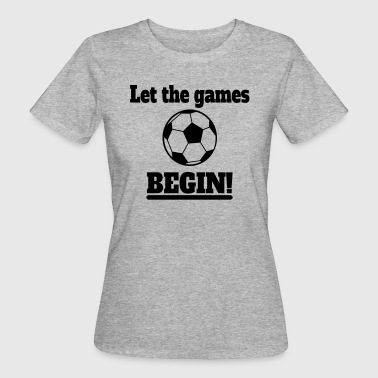 Football Games - Women's Organic T-shirt
