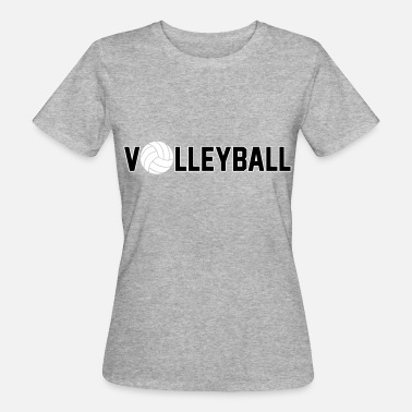 Volleyball Gracioso Volleyball - Camiseta ecológica mujer