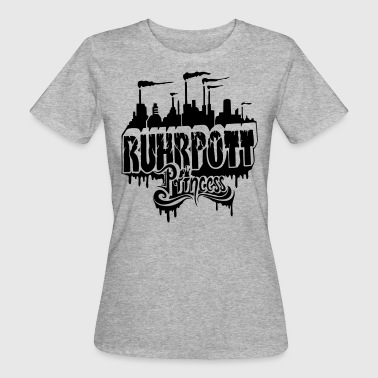 Ruhrpott Princess - Frauen Bio-T-Shirt