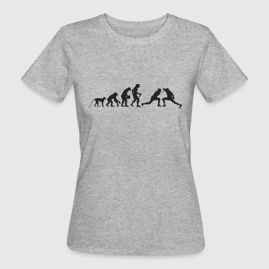 Evolution of fencing - Women's Organic T-Shirt