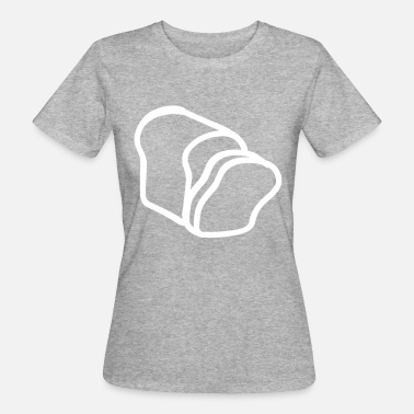 Slice-of-bread Bread slices - Women's Organic T-Shirt