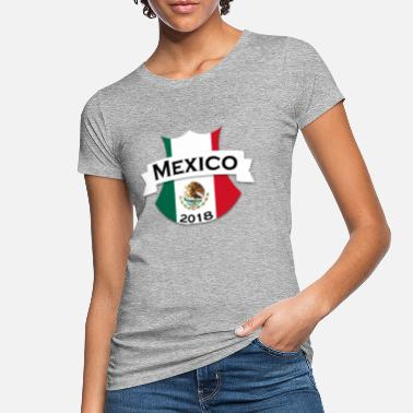 Zomersprookje Mexico 2018 voetbal - Vrouwen bio T-shirt