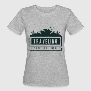 Traveling - Frauen Bio-T-Shirt