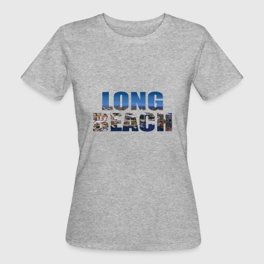 Langhorn LONG BEACH USA - Frauen Bio-T-Shirt