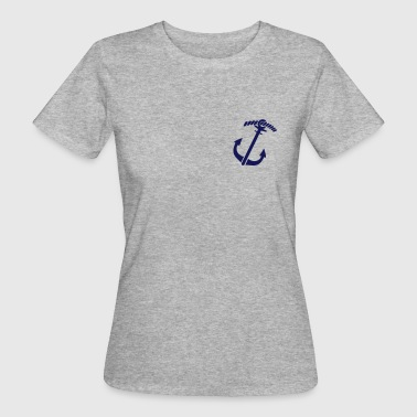 Anchor - Maritime - Sailing - Women's Organic T-shirt