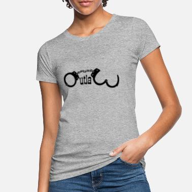 Outlaw handcuffs Outlaw - Women's Organic T-Shirt