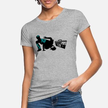 B Boying b boy - Women's Organic T-Shirt
