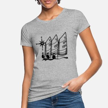 Optimist Optimist Sailing Regatta Opti - kids Sailing kids - Women's Organic T-Shirt