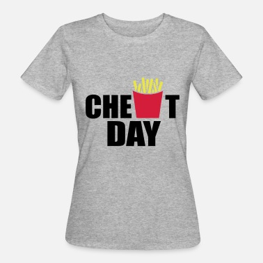 Cheating Jokes cheat day - Women's Organic T-Shirt