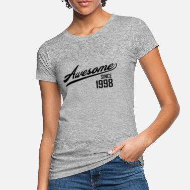 1998 Awesome Since 1998 - Women's Organic T-Shirt