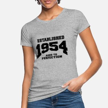 1954 Established 1954 - Camiseta orgánica mujer