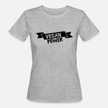 Vegan Power Vegan Power - Ekologisk T-shirt dam