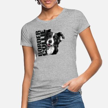 Hunderasse BORDER COLLIE DA - Frauen Bio T-Shirt