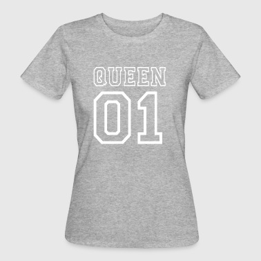 PARTNERSHIRT - QUEEN 01 - Vrouwen Bio-T-shirt