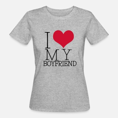 I Love Boys i love my boy - Vrouwen Bio-T-shirt