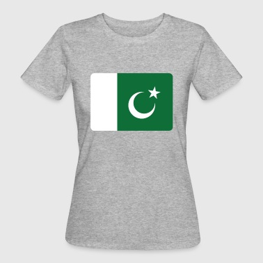 PAKISTAN FLAGGE! - Frauen Bio-T-Shirt