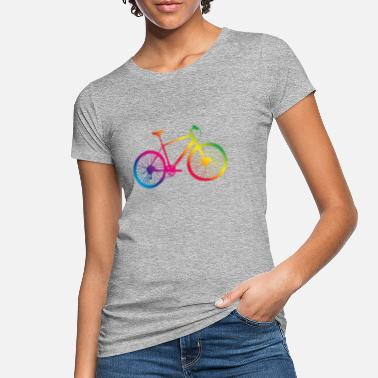 Bikes Mountain bike bicycle colorful - Women's Organic T-Shirt
