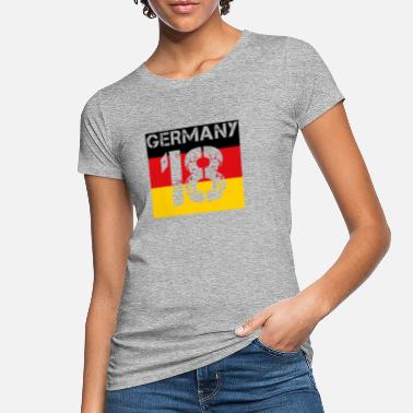 Germany football malls team wm em champion 18 - Women's Organic T-Shirt