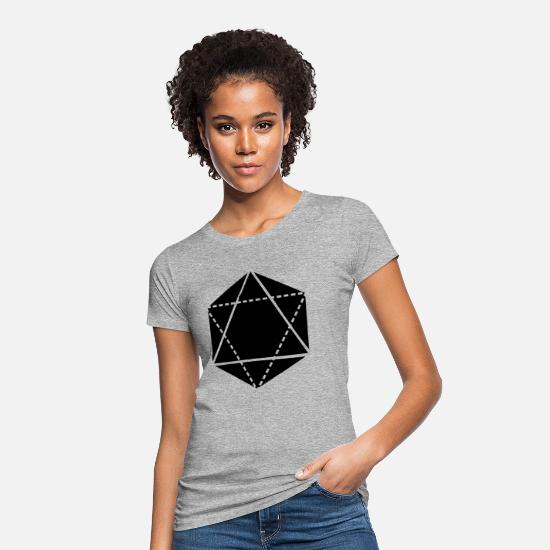 Sacred Geometry T-Shirts - Sacred Geometry - Women's Organic T-Shirt heather grey