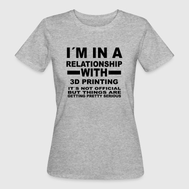 Impression 3d relation avec l'impression 3D - T-shirt bio Femme