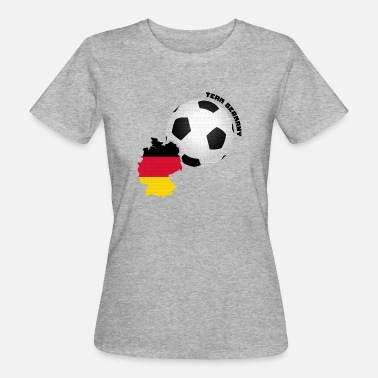 Match Internazionale Team Germany Tifoso shirt Cup - T-shirt ecologica da donna