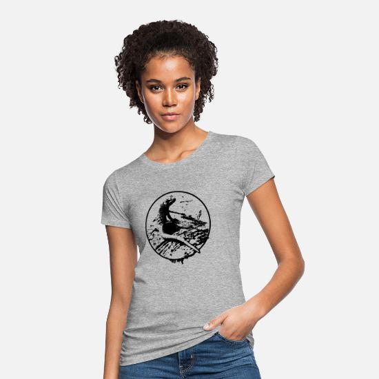 Gecko T-Shirts - Gecko - Women's Organic T-Shirt heather grey