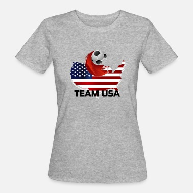 Team Usa Team USA - Vrouwen Bio-T-shirt