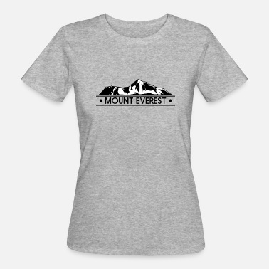 Mount Everest mount everest - Women's Organic T-Shirt