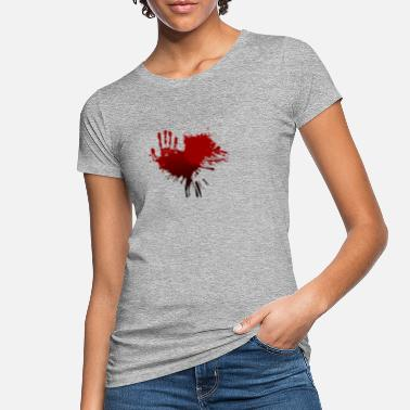 Bloodstain bloodstain - Women's Organic T-Shirt